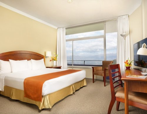 All our rooms are fully-equipped and offer city views.